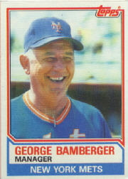 1983 Topps      246     George Bamberger MG