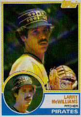 1983 Topps      253     Larry McWilliams