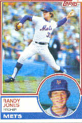 1983 Topps      029      Randy Jones