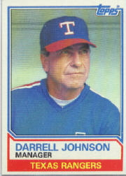 1983 Topps      037      Darrell Johnson MG