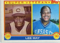 1983 Topps      377     Lee May
