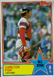 1983 Topps      392     Fred Lynn AS