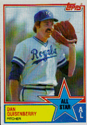 1983 Topps      395     Larry Gura AS