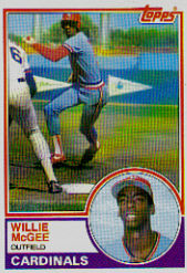 1983 Topps      049      Willie McGee RC