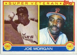 1983 Topps      603     Joe Morgan