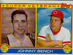 1983 Topps      061      Johnny Bench SV