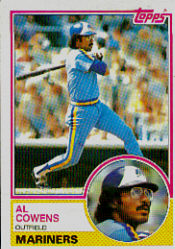1983 Topps      762     Cliff Johnson