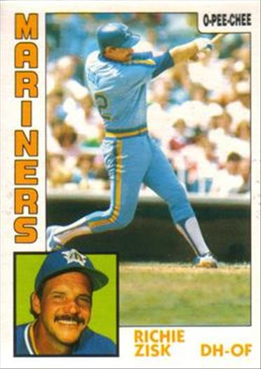 1984 O-Pee-Chee Baseball Cards 083      Richie Zisk