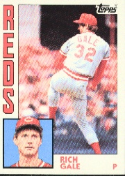 1984 Topps      142     Rich Gale