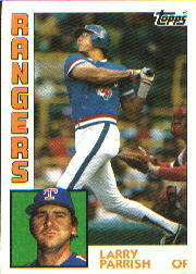 1984 Topps      169     Larry Parrish