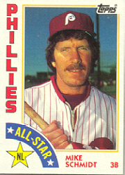 1984 Topps      388     Mike Schmidt AS