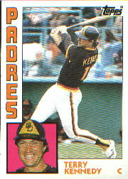 1984 Topps      455     Terry Kennedy