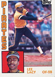 1984 Topps      462     Lee Lacy