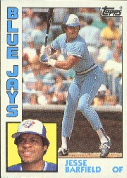 1984 Topps      488     Jesse Barfield