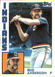1984 Topps      497     Bud Anderson