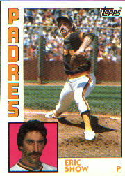 1984 Topps      532     Eric Show
