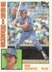 1984 Topps      647     Ron Roenicke