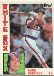 1984 Topps      072      Mike Squires
