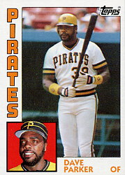 1984 Topps      775     Dave Parker