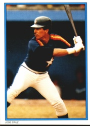 1985 Topps Glossy Send-Ins Baseball Cards      020      Jose Cruz