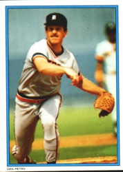 1985 Topps Glossy Send-Ins Baseball Cards      025      Dan Petry