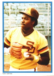 1985 Topps Glossy Send-Ins Baseball Cards      029      Tony Gwynn
