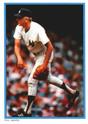 1985 Topps Glossy Send-Ins Baseball Cards      032      Phil Niekro