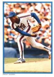 1985 Topps Glossy Send-Ins Baseball Cards      038      Dwight Gooden RC