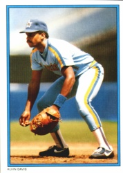 1985 Topps Glossy Send-Ins Baseball Cards      008      Alvin Davis RC