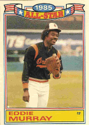 1986 Topps Glossy All-Stars Gray Stock Baseball Cards     002      Eddie Murray