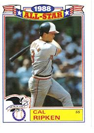 1986 Topps Glossy All-Stars Gray Stock Baseball Cards     005      Cal Ripken