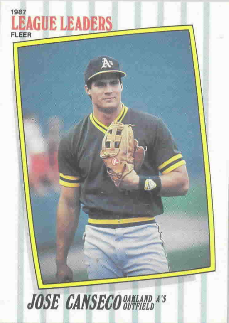 1987 Fleer League Leaders Baseball Cards