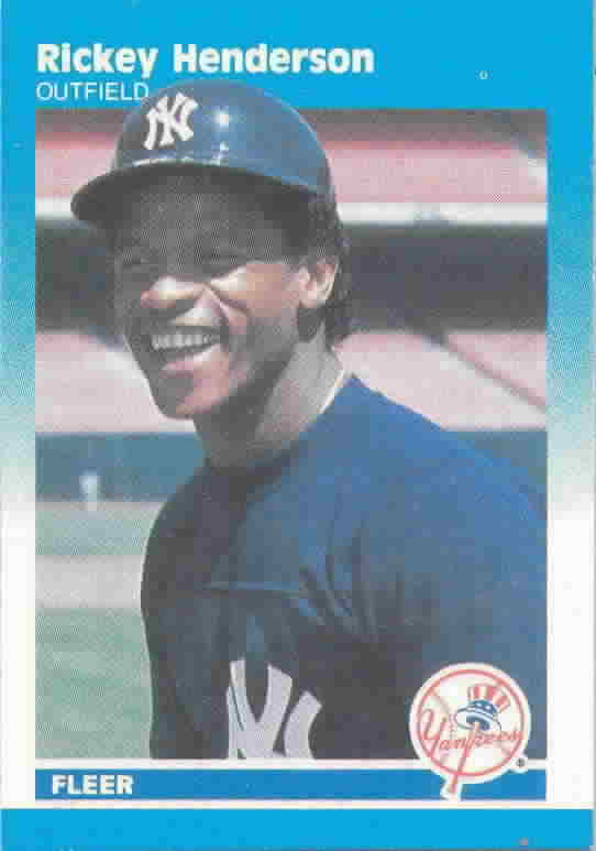1987 Fleer Mini Baseball Cards