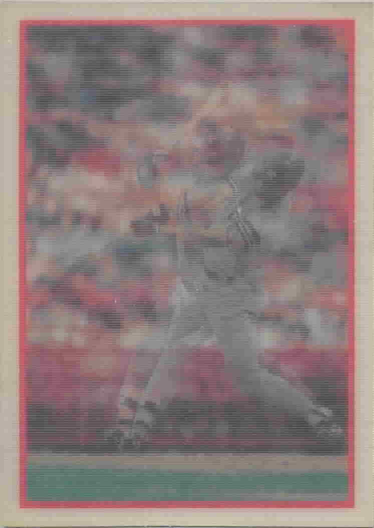 1987 Sportflics (1986 Copyright Back) Baseball Cards