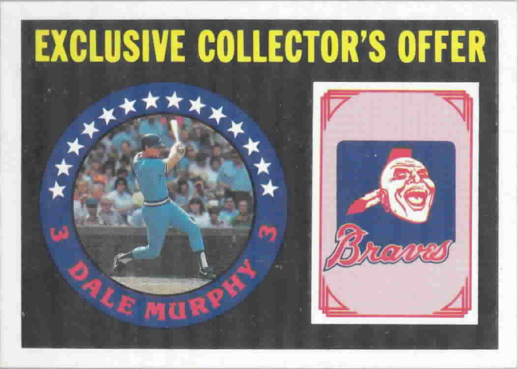 1987 Sportflics Offer Inserts Baseball Cards