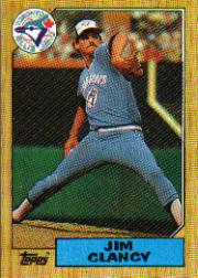 1987 Topps Baseball Cards      122     Jim Clancy