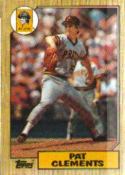 1987 Topps Baseball Cards      016      Pat Clements