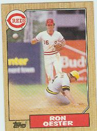 1987 Topps Baseball Cards      172     Ron Oester