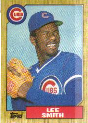 1987 Topps Baseball Cards      023      Lee Smith