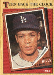 1987 Topps Baseball Cards      315     Maury Wills TBC  62