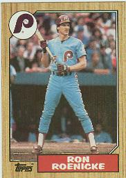 1987 Topps Baseball Cards      329     Ron Roenicke