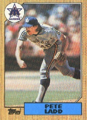 1987 Topps Baseball Cards      572     Pete Ladd
