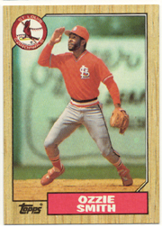 1987 Topps Baseball Cards      749     Ozzie Smith