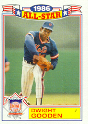 1987 Topps Glossy All-Stars Baseball Cards     010      Dwight Gooden