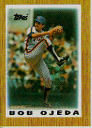 1987 Topps Mini Leaders Baseball Cards 025      Bob Ojeda