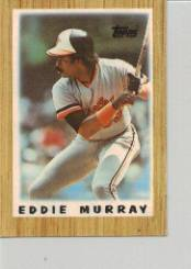 1987 Topps Mini Leaders Baseball Cards 039      Eddie Murray