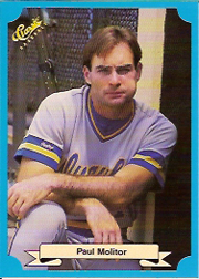 1988 Classic Blue Baseball Cards       232     Paul Molitor