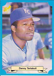 1988 Classic Blue Baseball Cards       235     Danny Tartabull UER#{(Photo actually#{Hal McRae)