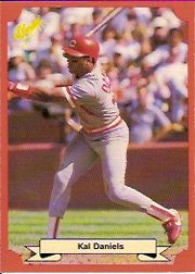 1988 Classic Red Baseball Cards        161     Kal Daniels