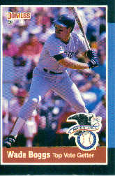 1988 Donruss All-Stars Baseball Cards  031      Wade Boggs#{(Top AL Vote Getter)